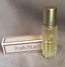 Avon Pearls & Lace .33 oz Satin Cologne Rollette Bottle in Box