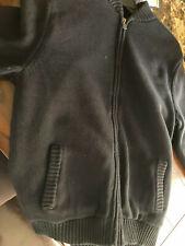 Mens Chaps Sherpa Lined Sweater Jacket Size Medium BNWT Retail $90.00!