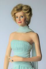 Diana Princess of Wales Porcelain Doll, Franklin Mint Limited Edition Boxed