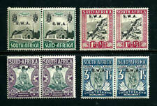 Stamps - South West Africa 1935 Semi-Postal Set - Sc# B1-4 MH