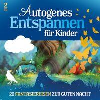AUTOGENES ENTSPANNEN FÜR KINDER - 20 FANTASIEREISE  LAMP UND LEUTE 2 CD NEU