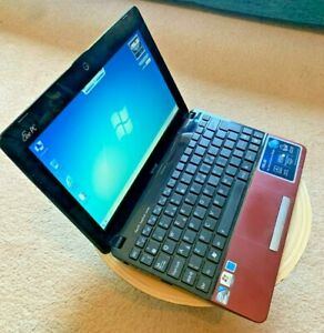 """(Red) ASUS Eee PC 1015PX 10.1"""" Notebook/Laptop (320GB) (Dual-core 1.66GHz) (2GB)"""