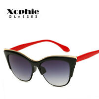Womens Vintage Cat Eye Sunglasses Fashion Retro Designer Eyewear Shades Glasses