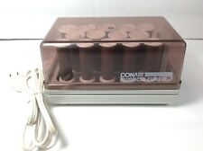 Vintage Conair Cushion Curl ll Hot Rollers14 HS-7 With Clips Tested works Great
