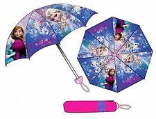 Disney FROZEN großer 85cm Taschenschirm Regenschirm Mini Schirm rosa Schutzhülle