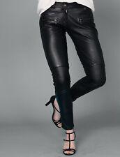 Skinny Lederhose Oakwood Gr. 40 (M / L) 100% Leder Lederleggings tigha TOP