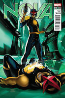 NOVA #18 MARVEL NOW 1:10 MIRCO PIERFEDERICI VARIANT COVER B