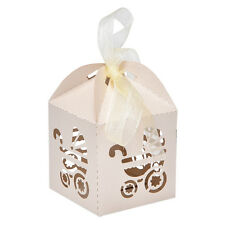 10/50/100X Pretty Married Wedding Favor Box Gift Boxes Candy Paper Party Box、