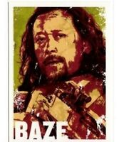 2016 TOPPS STAR WARS ROGUE ONE CHARACTER ICON CARDS #CI-10 BAZE MALBUS CARD