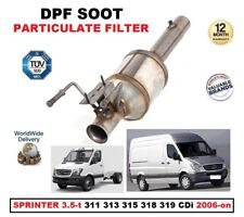 DPF DIESEL PARTICULATE FILTER for SPRINTER 3.5-t 311 313 315 318 319 CDi 2006-on