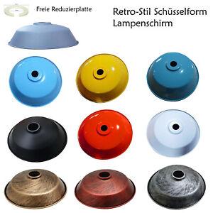 Lampenschirm Emaille Industrielampe Fabriklampe Vintage 36cm Hängelichtschirm