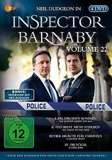 4 DVDs *  INSPECTOR BARNABY VOLUME 22  # NEU OVP &