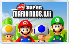 NEW SUPER MARIO BROS WII MOD2 FRIDGE MAGNET IMAN NEVERA