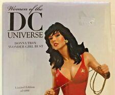 Women Of The DC Universe Wonder Girl Bust Wonder Woman Superman Batman see picts