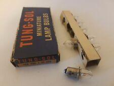 Box of 7 Tung-Sol Pr8 Pr-8 Miniature Flashlight Lamps Light Bulbs 1.9V .65A *Pr8