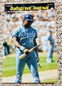 Ballstreet 1991 March Issue #2 Bo Jackson, Ken Griffey Jr, Michael Jordan NM