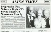 ALIEN NATION ALIEN TIMES NEWSPAPER RARE ORIGINAL 1989 FOX TV PRESS MATERIAL