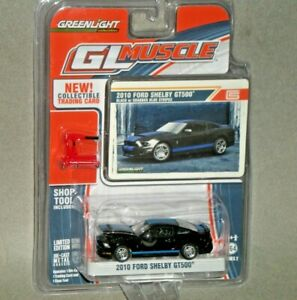 1/64th Greenlight Muscle S2 2010 Ford Shelby GT500 Black