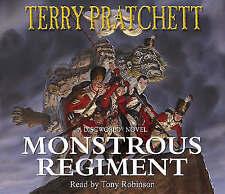 Terry Pratchett - Monstrous Regiment (Audiobook CD) New 4CD 9780552149402