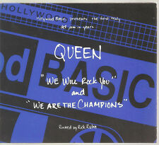"QUEEN ""We Will Rock You / We Are The Champions"" US Digi CD"