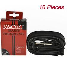 10x KENDA Road Bike Tire Inner Tubes 700×23/25C 60mm 120Psi Presta Valve F/V