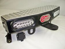 """Hitch Step, LED, Heavy Duty, Work Truck, Made in the USA! 24"""" Wide x 8"""" Deep"""