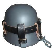 WH Luftwaffe Heer Tragehilfe für Stahlhelm Tragegurt schwarz Q426