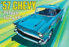 AMT 1/25 '57 Chevy Pepper Shaker 1957 Chevrolet 3 In 1 Custom PLASTIC KIT 1079