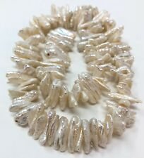 Natural Baroque FRESHWATER PEARL BEADS For Jewelry Making~ FULL STRAND!