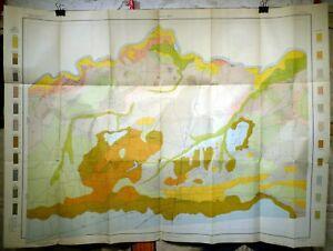 Original 1903 USDA Soil Survey Map for Paris, Texas. Indian Territory Boundary.