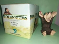 MOLENNIUMS MOLEIONAIRE FIGURINE DM15 DOVERDALE DESIGNS MOLE NEW IN BOX