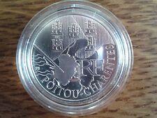 france 10 euros argent 2010 poitou-charentes