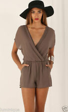 Women's Regular Solid Jumpsuits, Rompers & Playsuits