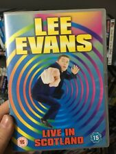 Lee Evans Live In Scotland region 2 DVD (stand up comedy)