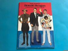 Ronald Reagan Paper Dolls - 1984