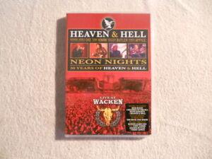 "Heaven & Hell ""Live at Wacken"" 2010  DVD Eagle Vision  150 Min.   $"
