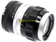 Nikon Nikkor Q-Auto 135mm. f3,5. Innesto a baionetta Nikon F con forcella.