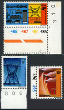 South Africa 386-388,MI 415-417,MNH.Electricity Supply Commission,50th Ann. 1973