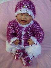 Jacke Mütze Schuhe Hose Baby Born Puppenkleidung  Reborn Baby puppe Set 40-45 cm
