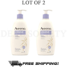 Aveeno Stress Relief Moisturizing Body Lotion w/ Lavender, Calms & Relaxes - 2pk