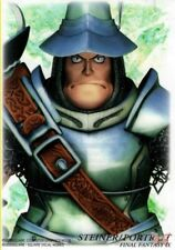 Final Fantasy 9 IX Art Museum Trading Card 7-11 Sp Ed 1 S-17 Steiner Portrait