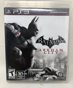 Batman: Arkham City For PlayStation 3 PS3 Very Good 5E