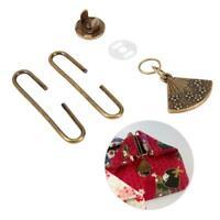 5cm Metal Purse Coin Bag C-shape Frame Clasp Magnetic Snap DIY Accessories
