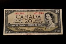 1954 - Twenty Dollar Canadian Banknote - 20$, Beattie/Coyne L/E9215308