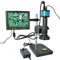HDMI USB Outputs Full Set 14MP Industrial Microscope Camera  w/180X C-mount-Lens