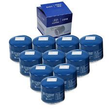 GENUINE Oil Filter 26300-35505/35504/35503 10pcs Set For 86-19 Hyundai Kia OEM