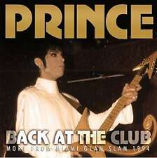 Prince - Back At The Club NEW CD