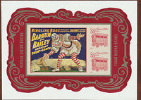 Circus Souvenir Sheet USA #4905C No Die-Cuts Imperf from Press Sheet .