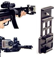 Cantilever Picatinny Weaver Gun Mount For 20mm Rail GoPro Hero4 Hero3 Hero 4 3 2