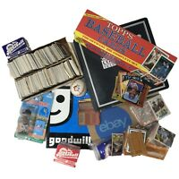5LB Sports Cards lot - Vintage Baseball collectibles - Huge Memorabilia Gift set